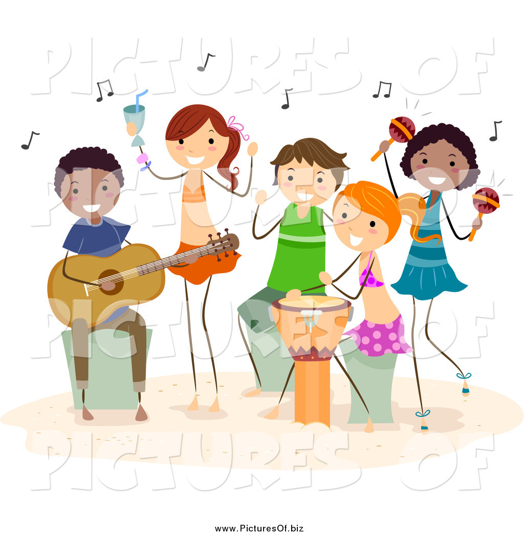 Music Time Clipart.