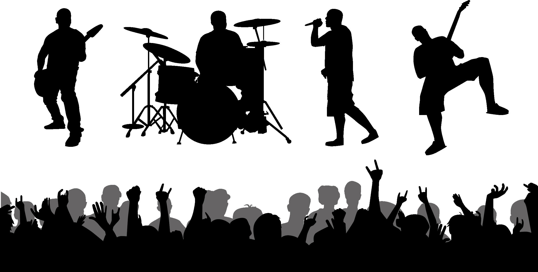 Performance Musical ensemble Silhouette Clip art.