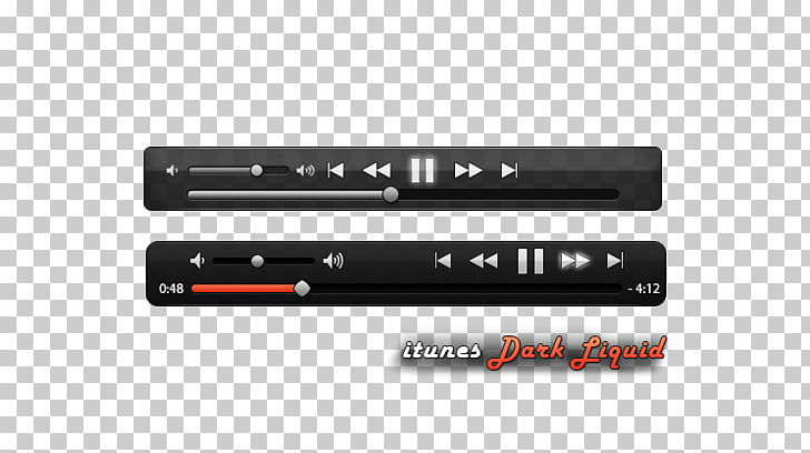 Music Media player Computer file, Black music player buttons.