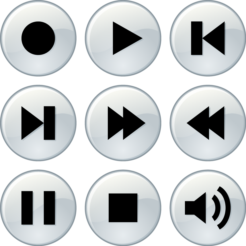 music player buttons color download svg eps png psd ai.