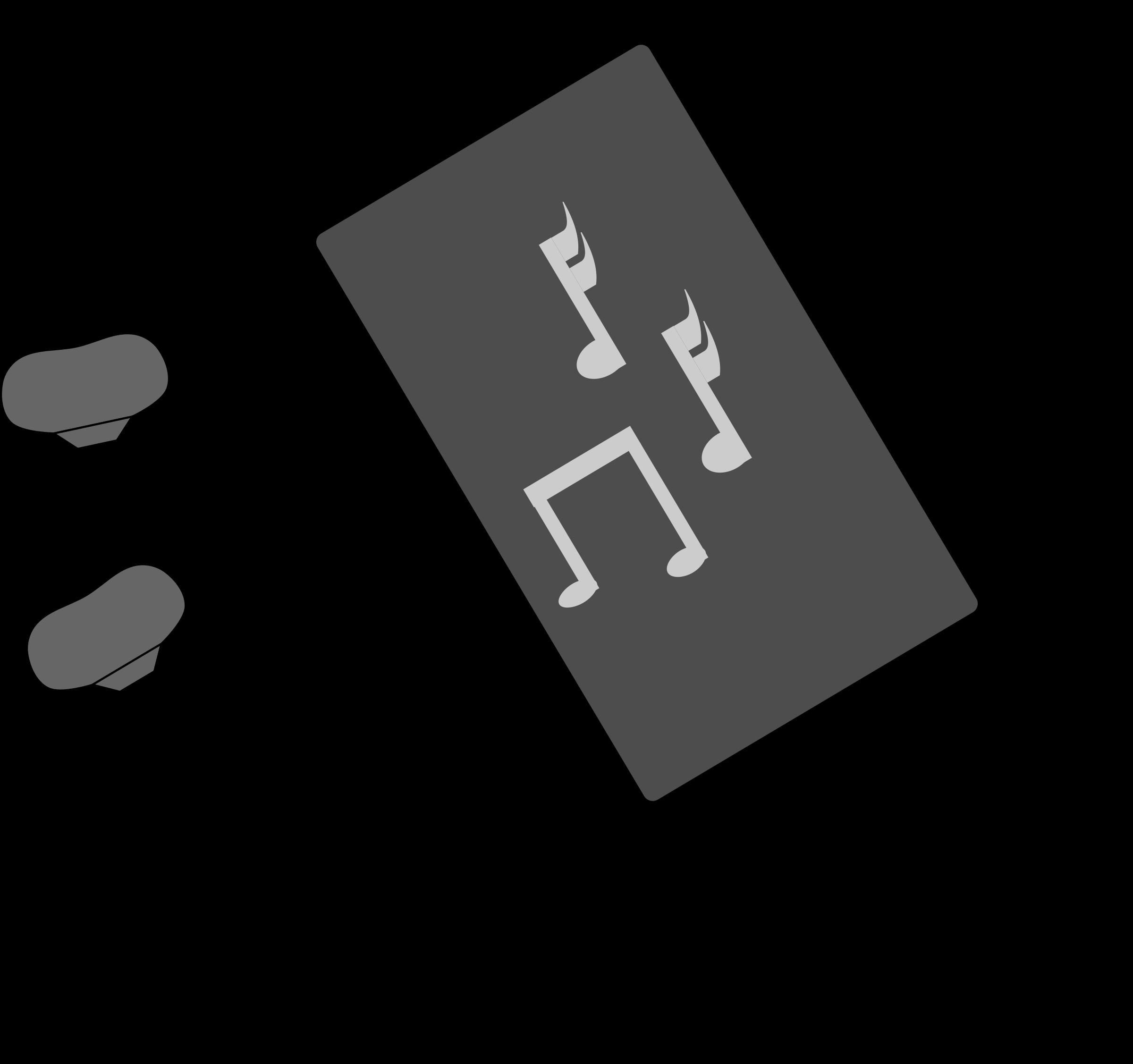Music Player Clip Art.
