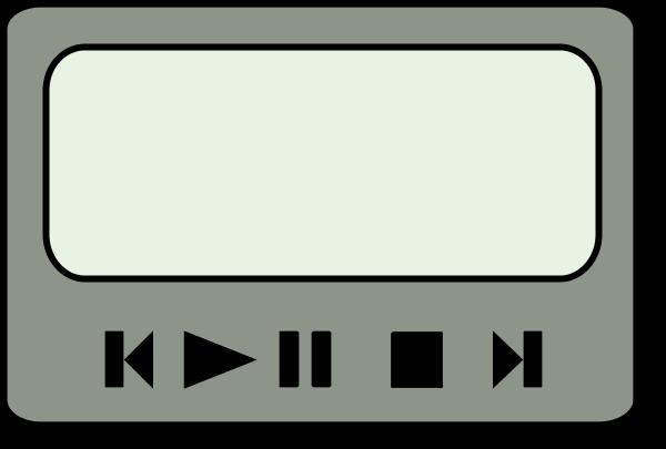 Music video clipart.