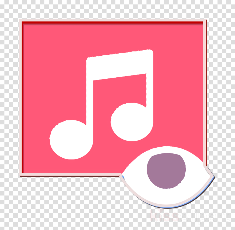 Music icon Interaction Assets icon Music player icon clipart.