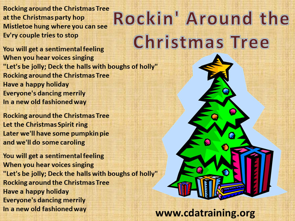 music playing around the christmas tree clipart - Clipground