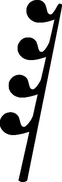 Music Symbol Rest Clip Art at Clker.com.