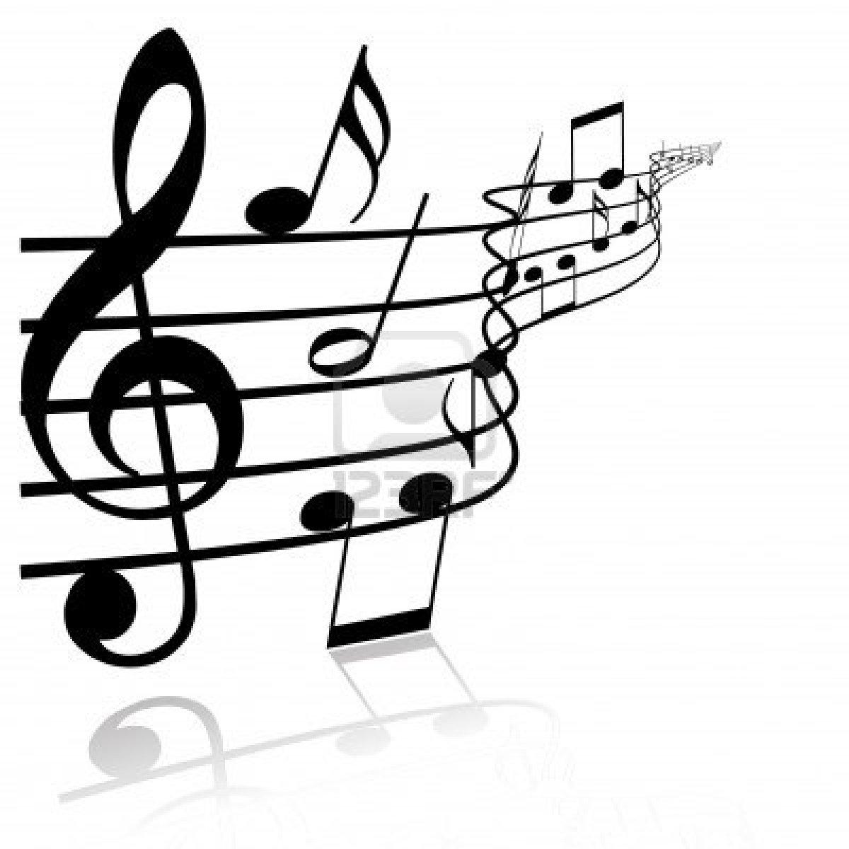 Free Music Theme Clipart.
