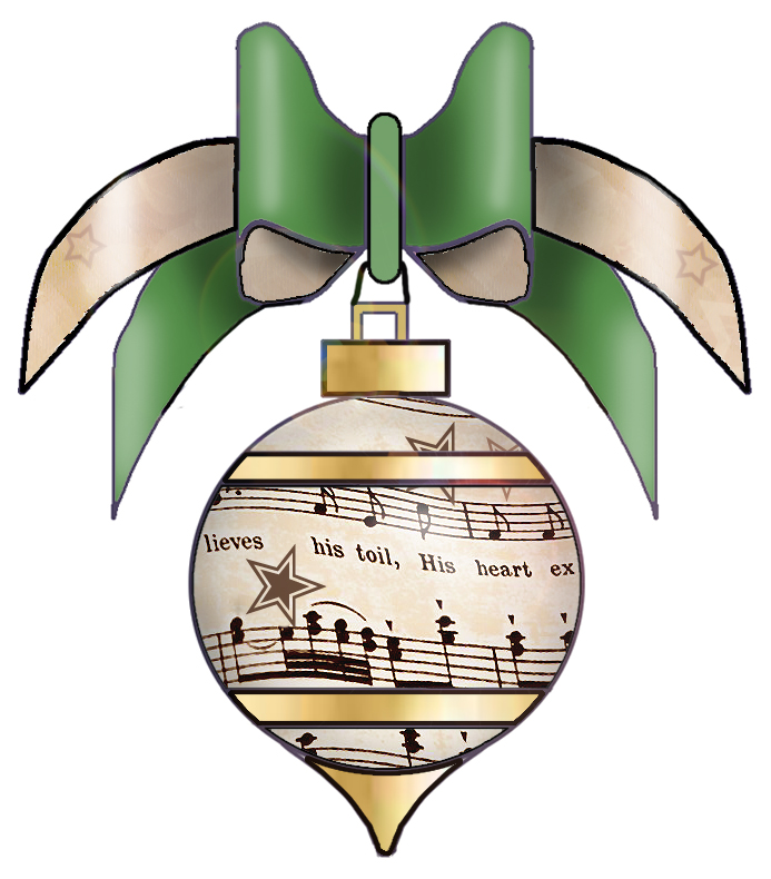 clipart of christmas songs #6