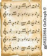 Sheet Music Clip Art.