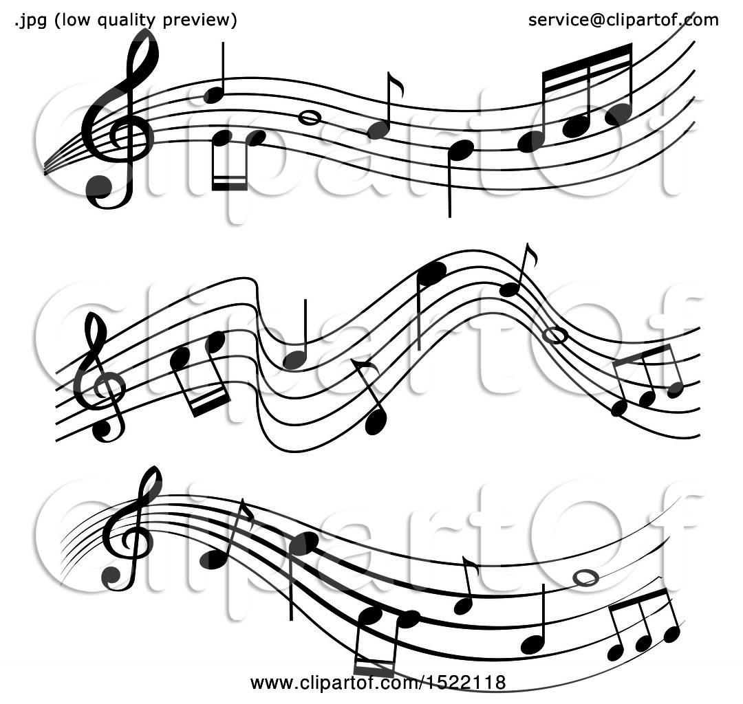 Clipart of a Music Sheet.