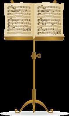 Music Stand.