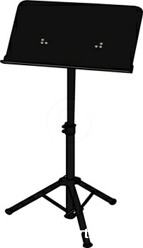 Music Stand Clipart.