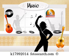 Music store Illustrations and Clipart. 511 music store royalty.