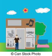 Music shop Vector Clip Art EPS Images. 1,991 Music shop clipart.