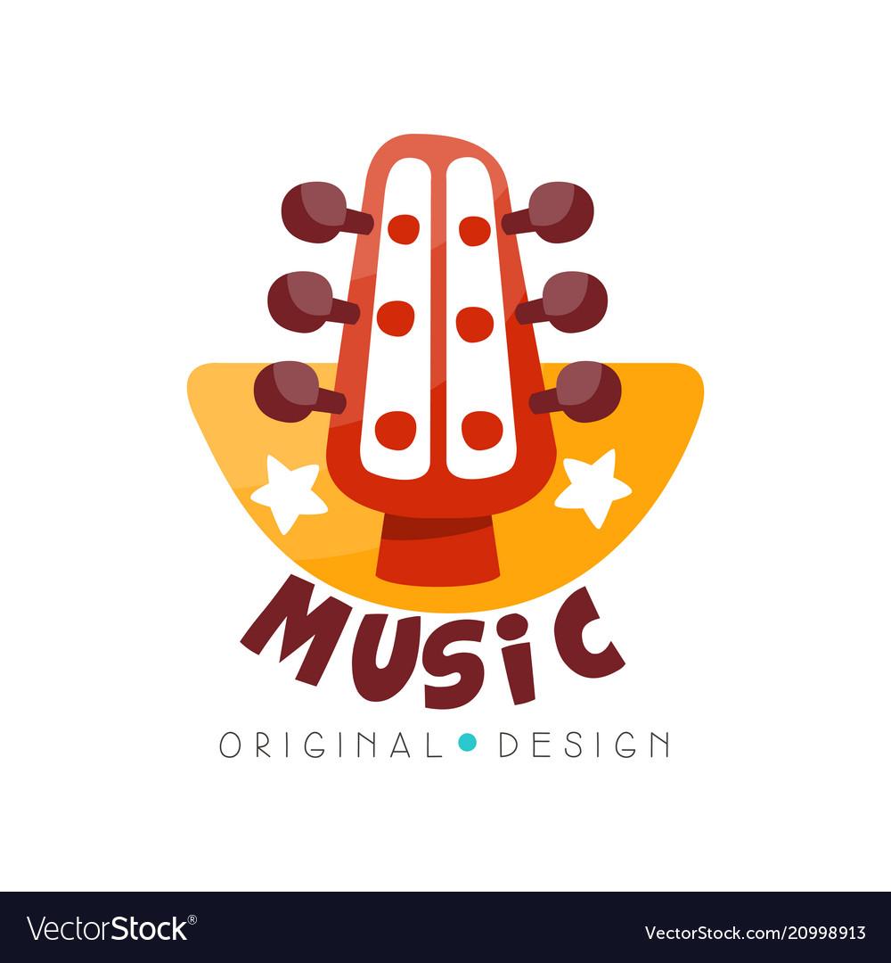 Music logo original design music studio shop.