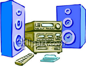 Music system clipart - Clipground