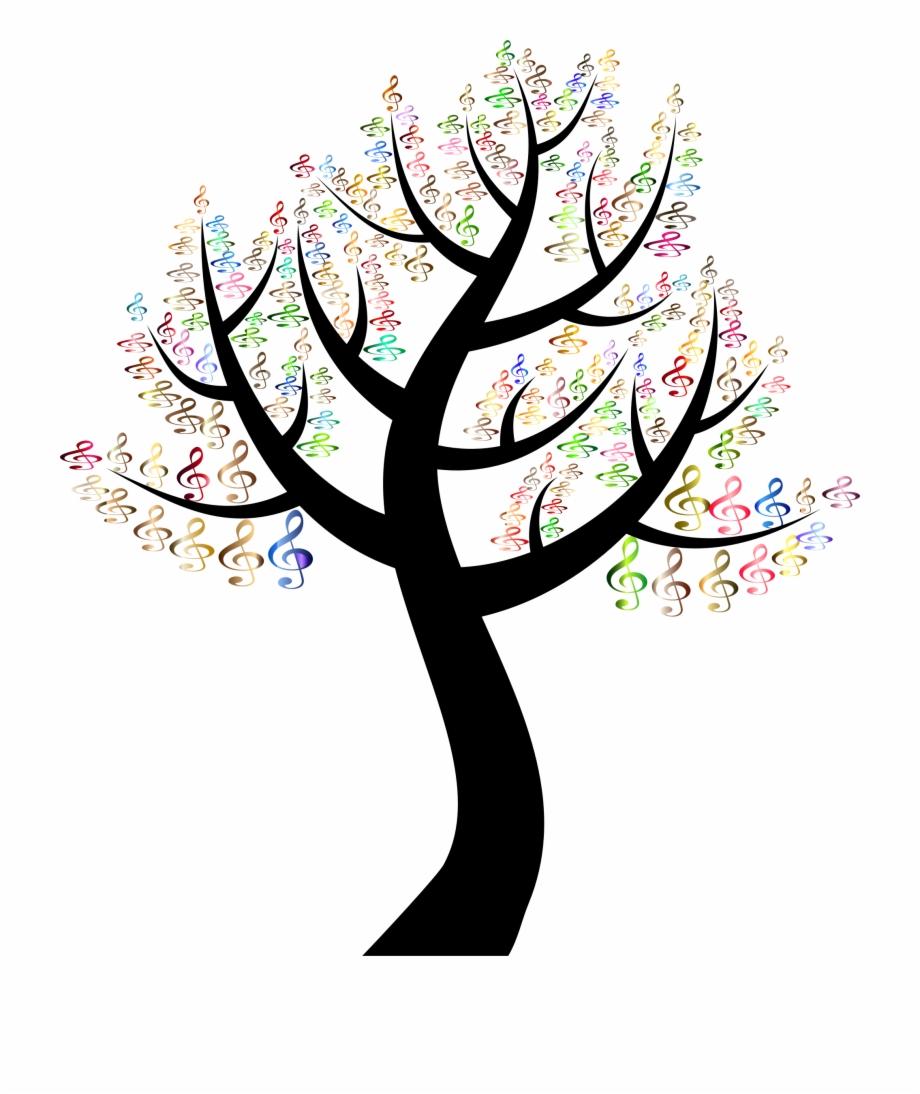 Clipart trees music, Clipart trees music Transparent FREE.