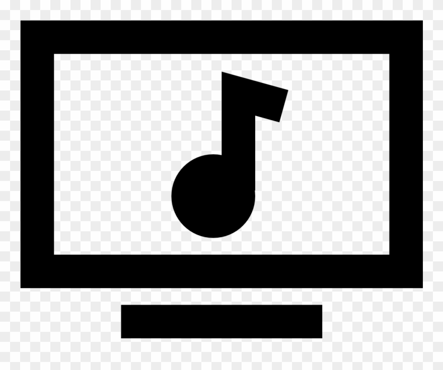 Music Video Icon Clipart (#2766868).