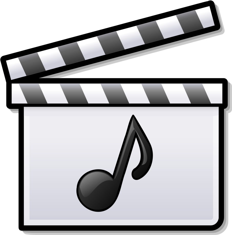 Video And Music Icon Movie And Music Icon.