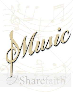 Music Background Clipart.