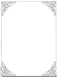 Free Musical Border Clipart.