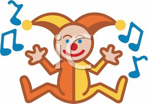 A_Musical_Clown_Toy_For_Kids_Royalty_Free_Clipart_Picture_110412.