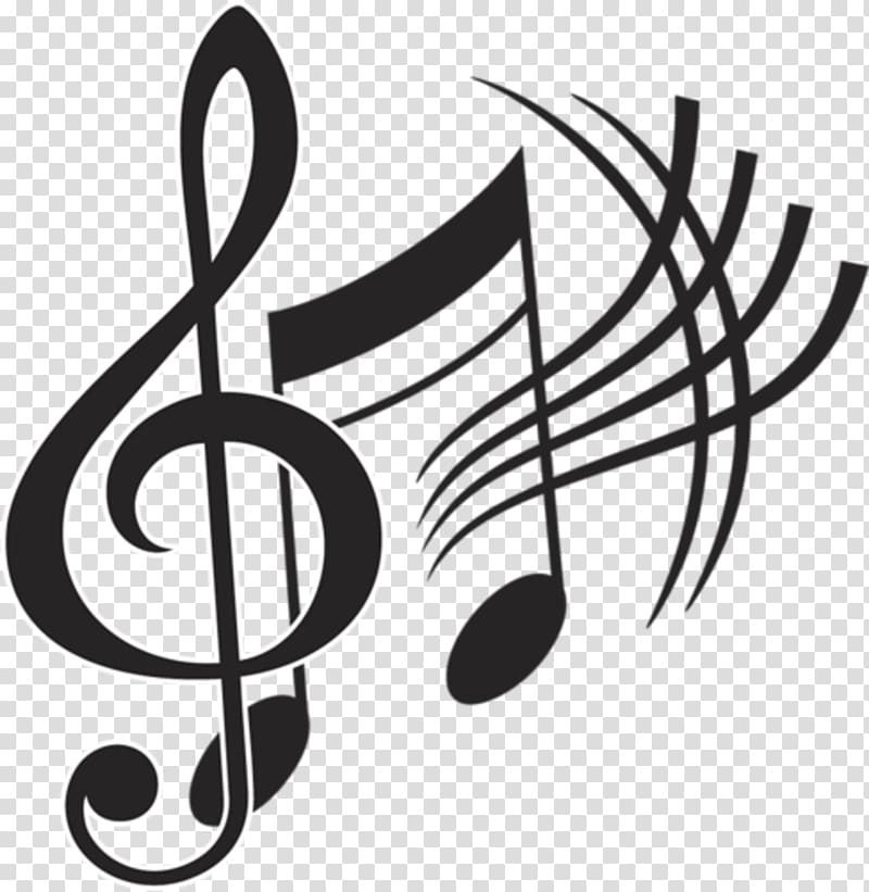 Musical note graphics, musical note transparent background.