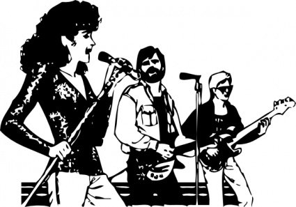 Music Group Clipart Picture Free Download.