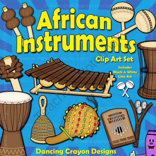 Musical Instruments: African Instruments Clip Art from.