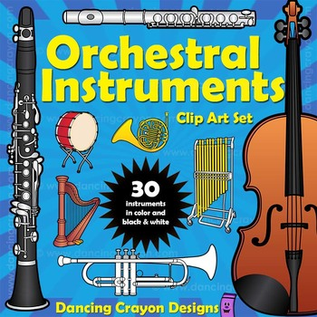 Musical Instruments: Orchestra Instruments by Dancing Crayon.
