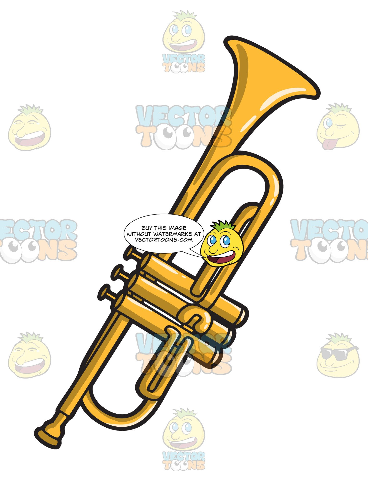A Musical Instrument Called The Trumpet.
