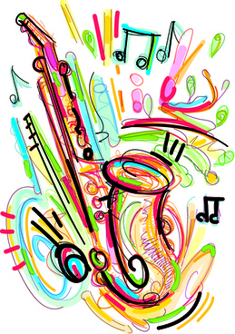 Musical instrument clip art free vector download (221,327.
