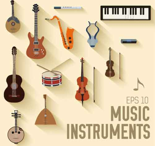 Music Clip Art: 32 Sets of Free Vector Graphics.