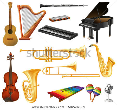 Musical Instruments Similar To Clipart Clipground