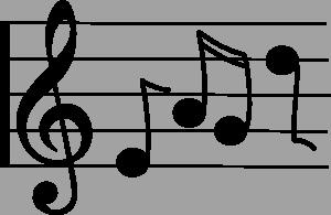 Music Score Clipart.