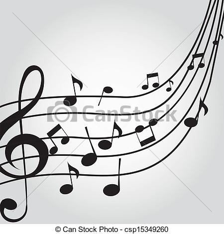Music score Stock Illustrations. 1,223 Music score clip art images.