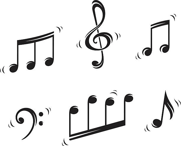 Best Musical Symbol Illustrations, Royalty.