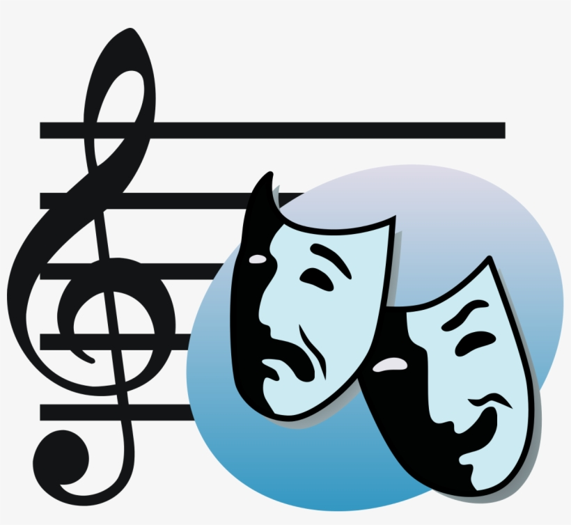 Masks Clipart Musical Theatre.
