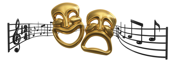 Musical Theater Clipart #1.