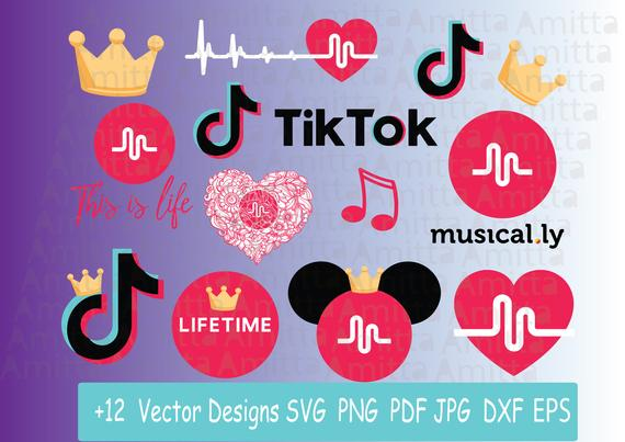 Set of Musically SVG files for cricut.