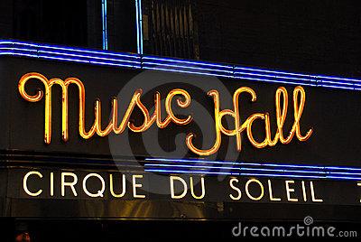 Radio City Music Hall Clip Art.