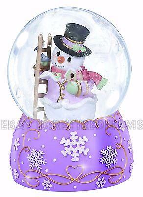 Precious Moments Snowglobe Bride/Groom Musical by Enesco • $4.50.