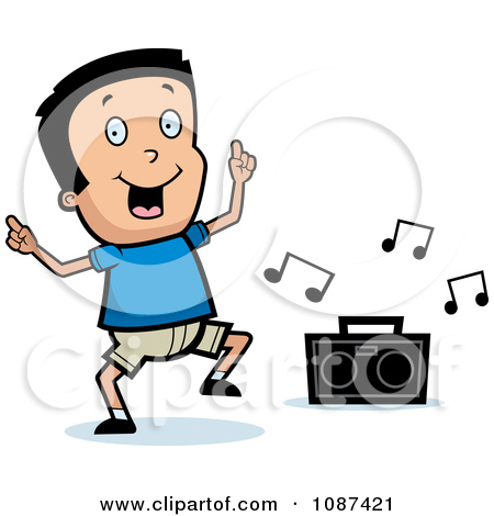 Dance and music clipart.