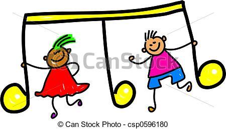 Music Clip Art For Kids.