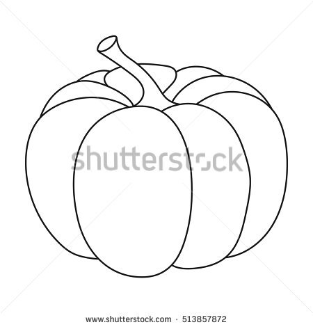 Gourd Outline Stock Photos, Royalty.