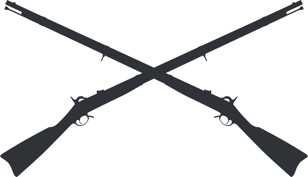 Gallery For > Crossed Musket Clipart.