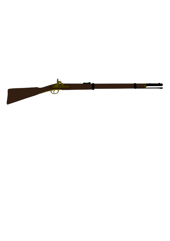 Free Clipart: Musket.