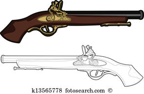 Musket Clipart Royalty Free. 215 musket clip art vector EPS.