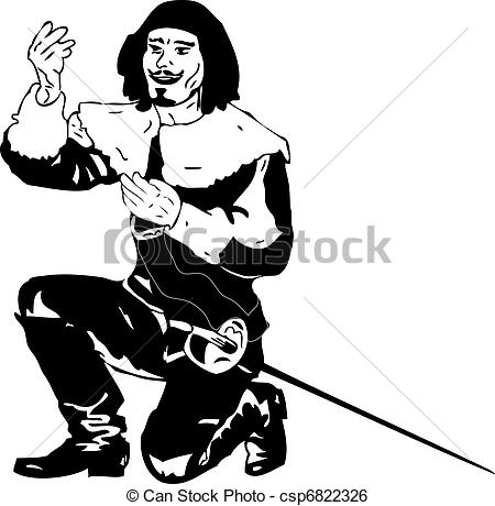 Musketeers Stock Illustrations. 678 Musketeers clip art images and.