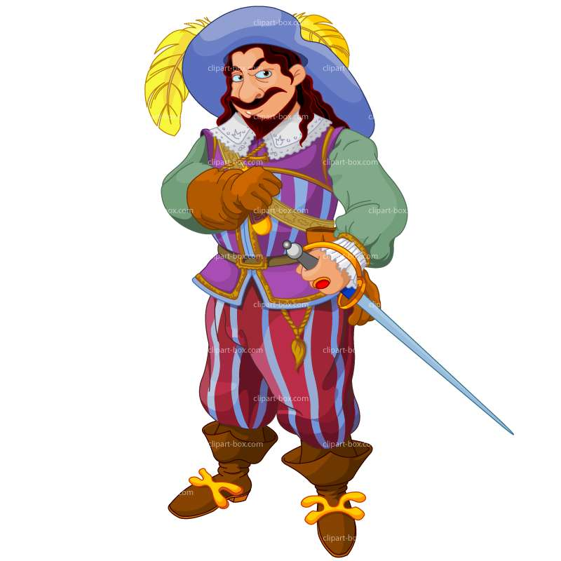 CLIPART MUSKETEER.