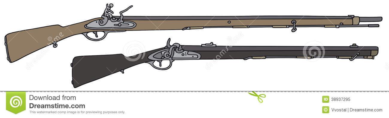 Musket Stock Illustrations.